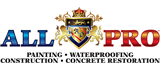 All Pro Painting, Waterproofing and Concrete Restoration