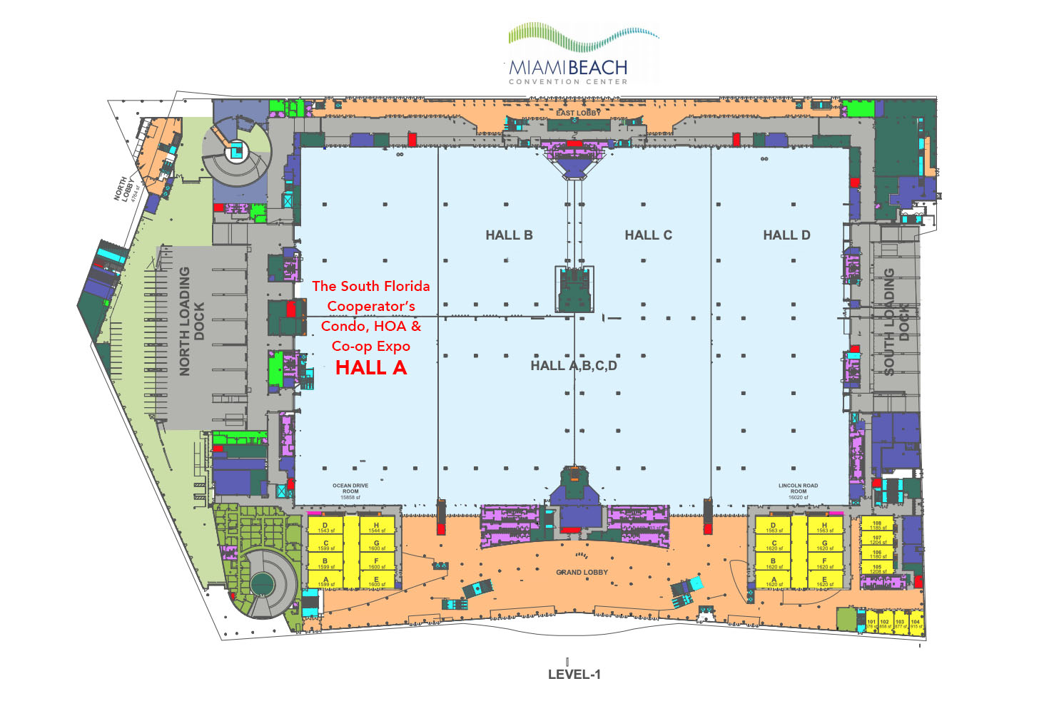 Broward County Convention Center Site Plan